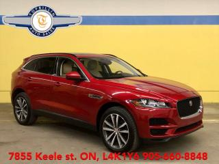 Used 2017 Jaguar F-PACE 20d Prestige, Navi, Pano Roof, Only 47K km for sale in Vaughan, ON