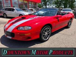 Used 2002 Chevrolet Camaro Z28 SS 35th Anniversary Convertinble for sale in London, ON