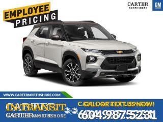 New 2021 Chevrolet TrailBlazer ACTIV for sale in North Vancouver, BC