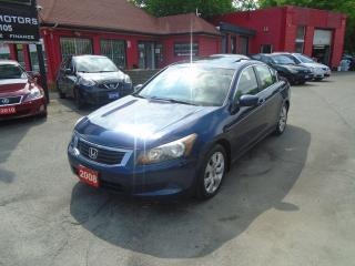 Used 2008 Honda Accord EX-L / LEATHER / ROOF / HEATED SEATS / 4 CYLINDER for sale in Scarborough, ON