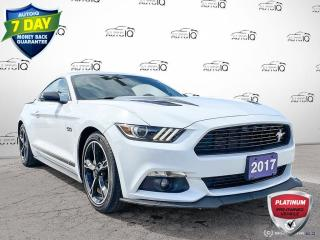 Used 2017 Ford Mustang GT Premium Manual Leather/California Special Edition for sale in St Thomas, ON