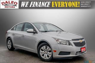 Used 2013 Chevrolet Cruze LT Turbo / KEYLESS ENTRY / for sale in Hamilton, ON