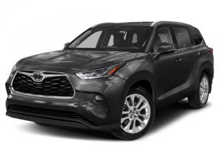 New 2021 Toyota Highlander LIMITED  for sale in Ancaster, ON