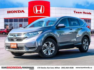 Used 2018 Honda CR-V LX for sale in Milton, ON