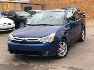 Used 2008 Ford Focus SES LEATHER HEATED SEATS, CRUISE CONTROL, AIR & MUCH MORE for sale in Saskatoon, SK