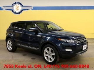 Used 2013 Land Rover Range Rover Evoque Pure Premium, Pan Roof, Navi, B Cam & more for sale in Vaughan, ON