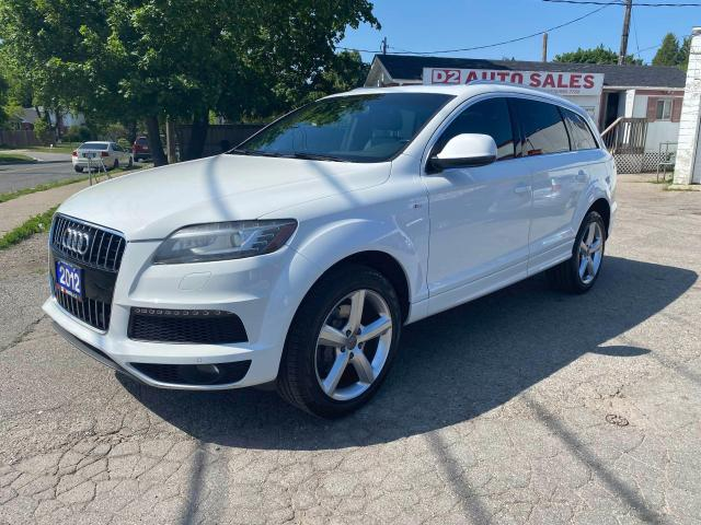 2012 Audi Q7 Quattro/Leather/PanoRoof/Navi/BT/Comes Certified
