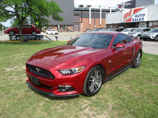 2015 Ford Mustang GT ~ V8 ~ ACCIDENT FREE ~ LEATHER ~ COOLING SEATS