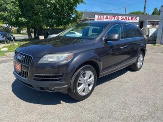 Used 2013 Audi Q7 Quattro/Leather/PanoRoof/Bluetooth/Comes Certified for sale in Scarborough, ON