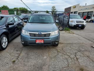 Used 2010 Subaru Forester Limited for sale in Vaughan, ON