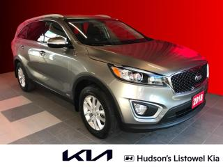 Used 2018 Kia Sorento 2.4L LX One Owner | Trailer Hitch | Bluetooth for sale in Listowel, ON