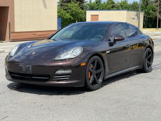 Used 2012 Porsche Panamera Premium  Navigation/Sunroof/Camera for sale in North York, ON