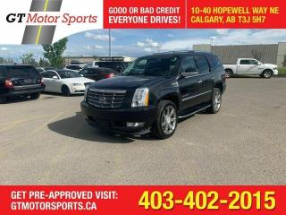 Used 2011 Cadillac Escalade BACKUP CAM I NAVI  | $0 DOWN - EVERYONE APPROVED! for sale in Calgary, AB