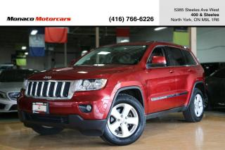 Used 2013 Jeep Grand Cherokee LAREDO 3.6L 4WD - LEATHER|SUNROOF|BACKUPCAM for sale in North York, ON