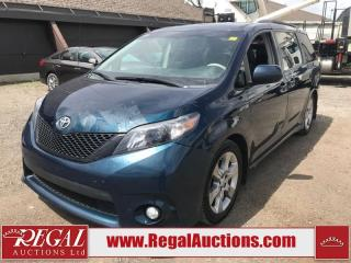 Used 2012 Toyota SIENNA SE 4D WAGON 8 PASS for sale in Calgary, AB
