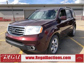 Used 2012 Honda Pilot EX-L 4D Utility 4WD for sale in Calgary, AB