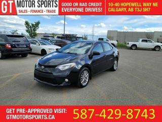 Used 2014 Toyota Corolla LE | $0 DOWN - EVERYONE APPROVED! for sale in Calgary, AB