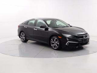 Used 2019 Honda Civic Touring Wirless charging pad, Apple CarPlay, Sunroof, Heated seats for sale in Winnipeg, MB