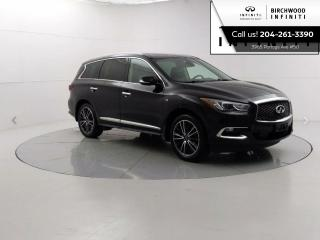 Used 2017 Infiniti QX60 AWD 4dr Navigation, Sunroof, Around view monitoring, Cooling seats for sale in Winnipeg, MB