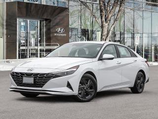 New 2021 Hyundai Elantra Preferred Tech Sun & Tech Package for sale in Winnipeg, MB