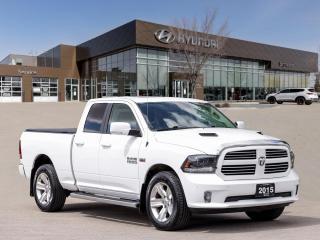 Used 2015 RAM 1500 Sport   Ventilated Seats   Heated Steering   Navigation   for sale in Winnipeg, MB