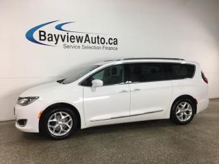 Used 2018 Chrysler Pacifica Touring-L Plus - HTD LEATHER! ENTERTAINMENT CENTER! PWR DOORS & LIFTGATE! + MUCH MORE! for sale in Belleville, ON