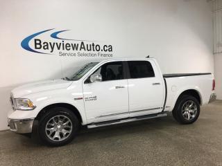 Used 2018 RAM 1500 Longhorn - LIMITED! ECODIESEL! LOADED! for sale in Belleville, ON