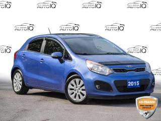 Used 2015 Kia Rio EX Selling As Is / As Traded   |   Clean Car Fax   |   Solid Service History for sale in St Catharines, ON