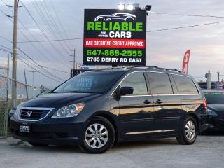 Used 2010 Honda Odyssey EX-L,LEATHER,BACKUP-CAMERA,CERTIFIED,FULLY LOADED, for sale in Mississauga, ON