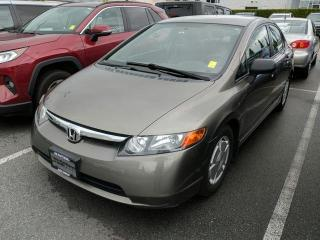Used 2008 Honda Civic DX-G for sale in North Vancouver, BC