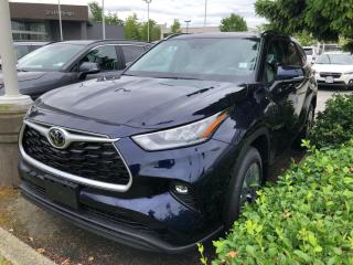 New 2021 Toyota Highlander XLE AWD for sale in North Vancouver, BC