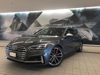 Used 2018 Audi S5 Sportback 3.0T Technik + Sport Diff | Brake Calipers | Nav for sale in Whitby, ON