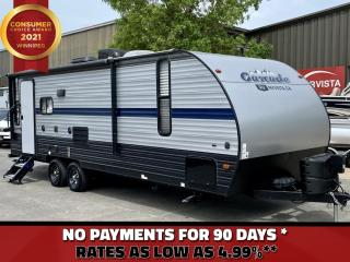 Used 2020 Cherokee by Forest River Cascade 23MKC Cascade 23MKC - Rear Living Space- for sale in Winnipeg, MB