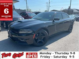 Used 2017 Dodge Charger SXT Leather Moonroof Navigation Back Up Camera for sale in St Catharines, ON
