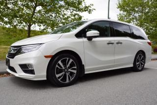 Used 2018 Honda Odyssey Touring 8 Passenger for sale in Vancouver, BC