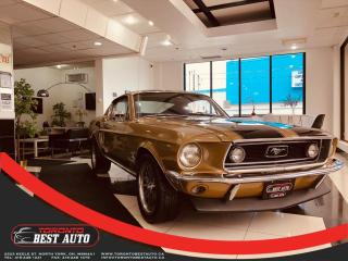 Used 1968 Ford Mustang FASTBACK|GT|4 SPEED HURST EQUIPED|SPANISH GOLD| for sale in Toronto, ON