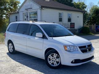 Used 2014 Dodge Grand Caravan No-Accidents Leather Sunroof Navi Backup Cam DVD StowNGO for sale in Sutton, ON