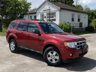 Used 2012 Ford Escape LOW KMS 4WD V6 XLT Bluetooth Power Group A/C Cruise for sale in Sutton, ON
