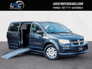 Used 2013 Dodge Grand Caravan SXT-MOBILITY WHEELCHAIR VAN-DVD-BACKUP CAMERA-WARRANTY for sale in Toronto, ON