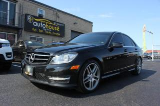 Used 2014 Mercedes-Benz C-Class C300/4MATIC/NAV/LANE DEPARTURE/BACKUPCAMERA/SUNROOF for sale in Newmarket, ON
