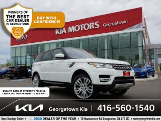 Used 2016 Land Rover Range Rover Sport Td6 HSE | NAV | PANO ROOF | BU CAM | HTD SEATS| BT for sale in Georgetown, ON