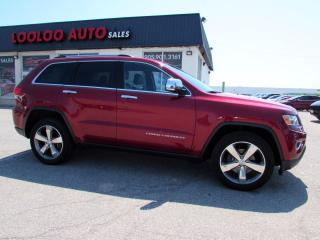 Used 2014 Jeep Grand Cherokee Limited 4WD Auto Camera 3.6L No Accident Certified for sale in Milton, ON