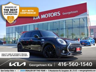 Used 2017 MINI Cooper Clubman S AWD | 1 OWNR| NAV | DUAL SUNROOF| HTD SEATS| 78K for sale in Georgetown, ON