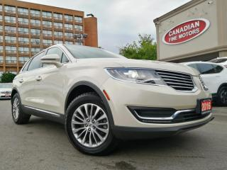 Used 2016 Lincoln MKX CLEAN CARFAX | SELECT | NAVI | CAM | PANO | AWD | for sale in Scarborough, ON