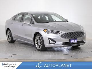 Used 2020 Ford Fusion Hybrid Titanium, Navi, Sunroof, Adaptive Cruise Control! for sale in Clarington, ON