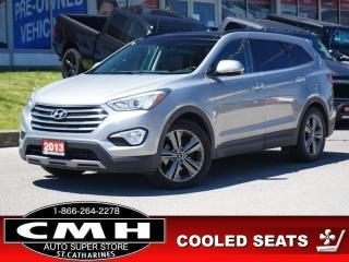 Used 2013 Hyundai Santa Fe XL LTD W/SADDLE  NAV ROOF LEATH 19-AL for sale in St. Catharines, ON
