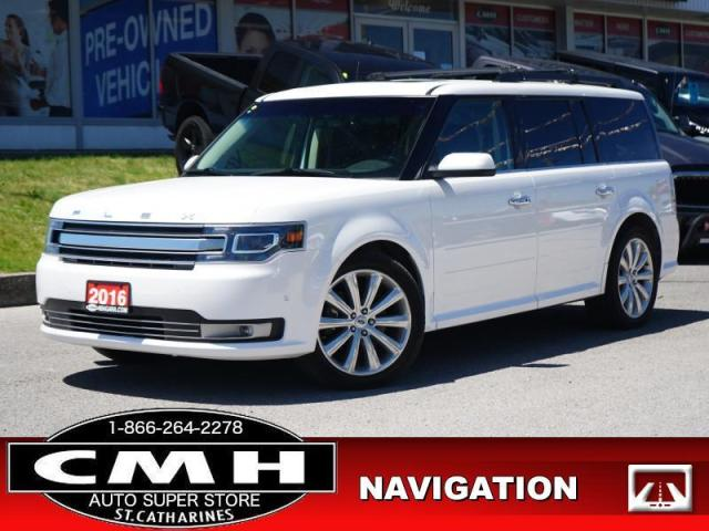 2016 Ford Flex Limited  NAV CAM ROOF LEATH HTD-S/W 20-AL