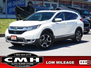 Used 2018 Honda CR-V Touring AWD  NAV ROOF LEATH HTD-S/W-18-AL for sale in St. Catharines, ON