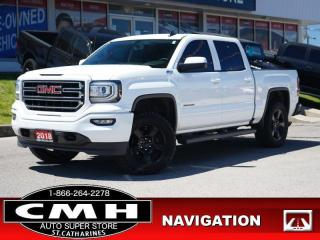 Used 2018 GMC Sierra 1500 SLE  NAV CAM P/SEATS HTD-SEATS TOW 20-AL for sale in St. Catharines, ON