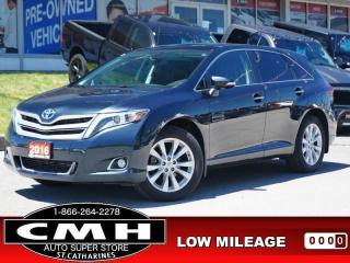 Used 2016 Toyota Venza AWD Limited  NAV CAM ROOF LEATH 19-AL for sale in St. Catharines, ON